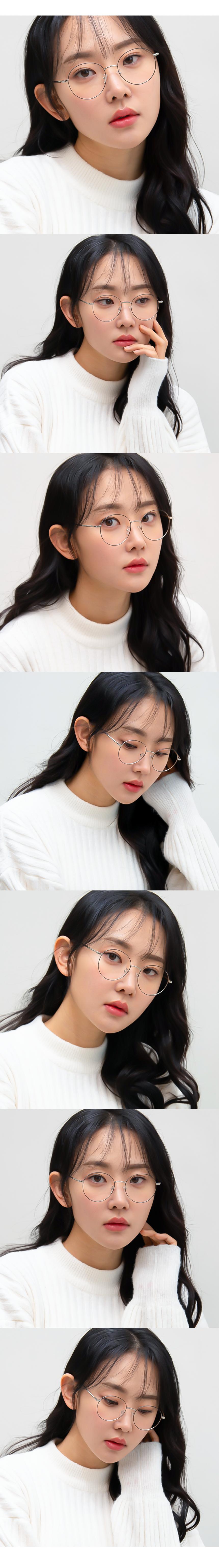 일삼사엠엠(134MM) 블루라이트 주문제작 本 실버 S000785